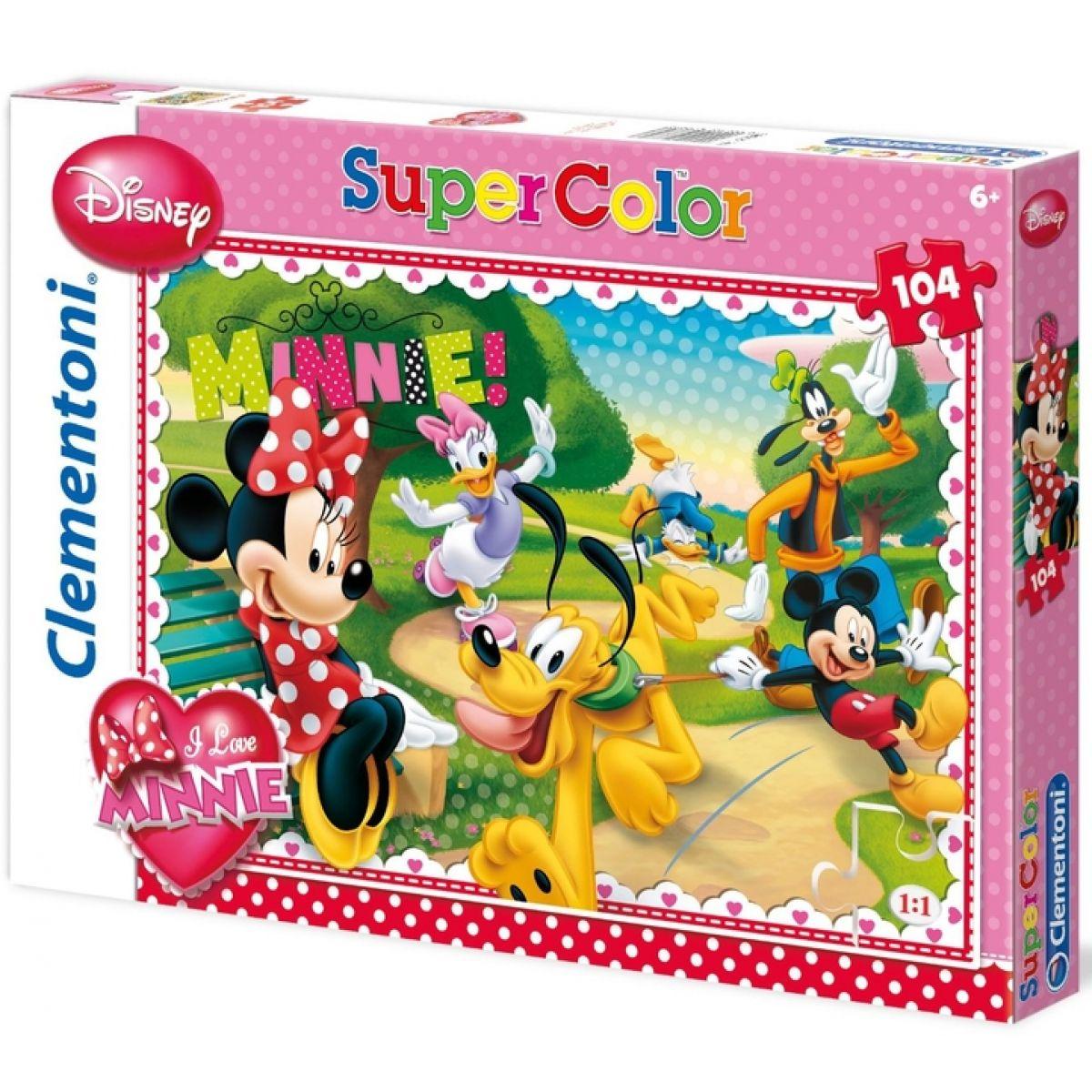 Clementoni Puzzle Supercolor Minnie 104d