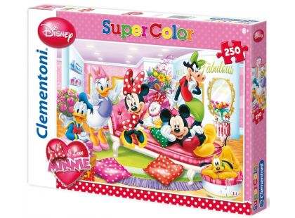 Clementoni Puzzle Supercolor Minnie Fabulous 250d