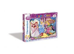 Clementoni Puzzle Supercolor, Princezny a šperky