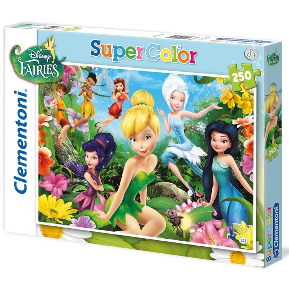 Clementoni Puzzle Supercolor Víly 250d