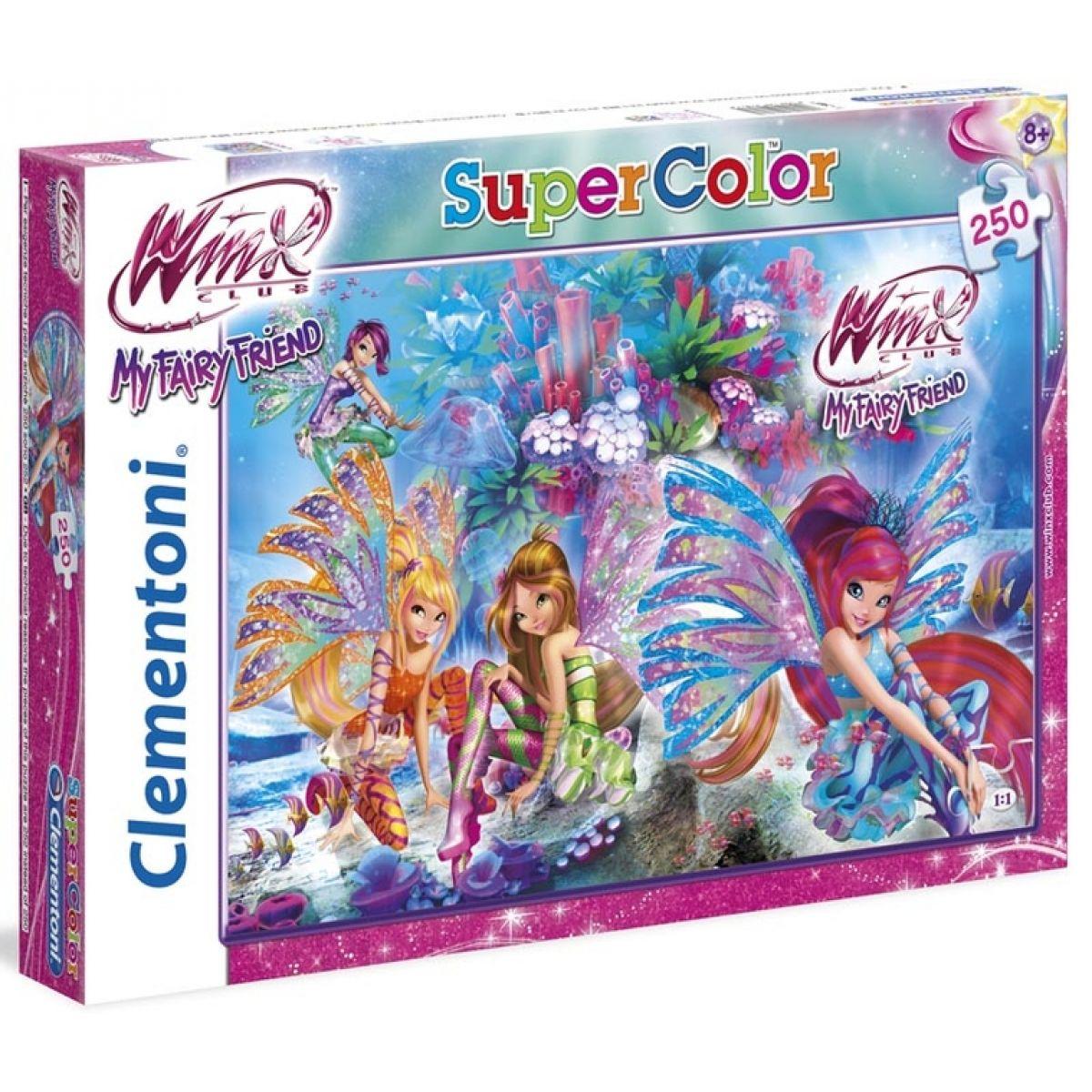 Clementoni Puzzle Supercolor Winx 250d