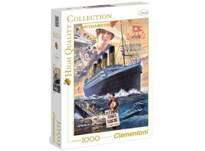 Clementoni Puzzle Titanic 1000d