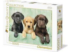 Clementoni Puzzle Tři Labradoři 1000d