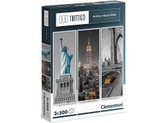 Clementoni Puzzle Trittico New York 3 x 500 dílků