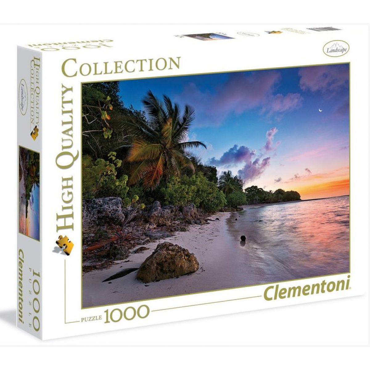 Clementoni Puzzle Tropický ráj 1000 dílků