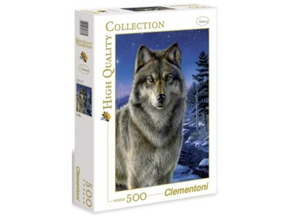 Clementoni Puzzle Vlk 500d