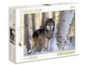 Clementoni Puzzle Vlk v zimě 1500 dílků