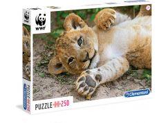 Clementoni Puzzle WWF Lvíče 250d