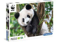 Clementoni Puzzle WWF Mládě Pandy 104d