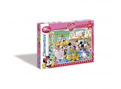 Clementoni Puzzzle Love Minnie 104 dílků, Čajový dýchánek