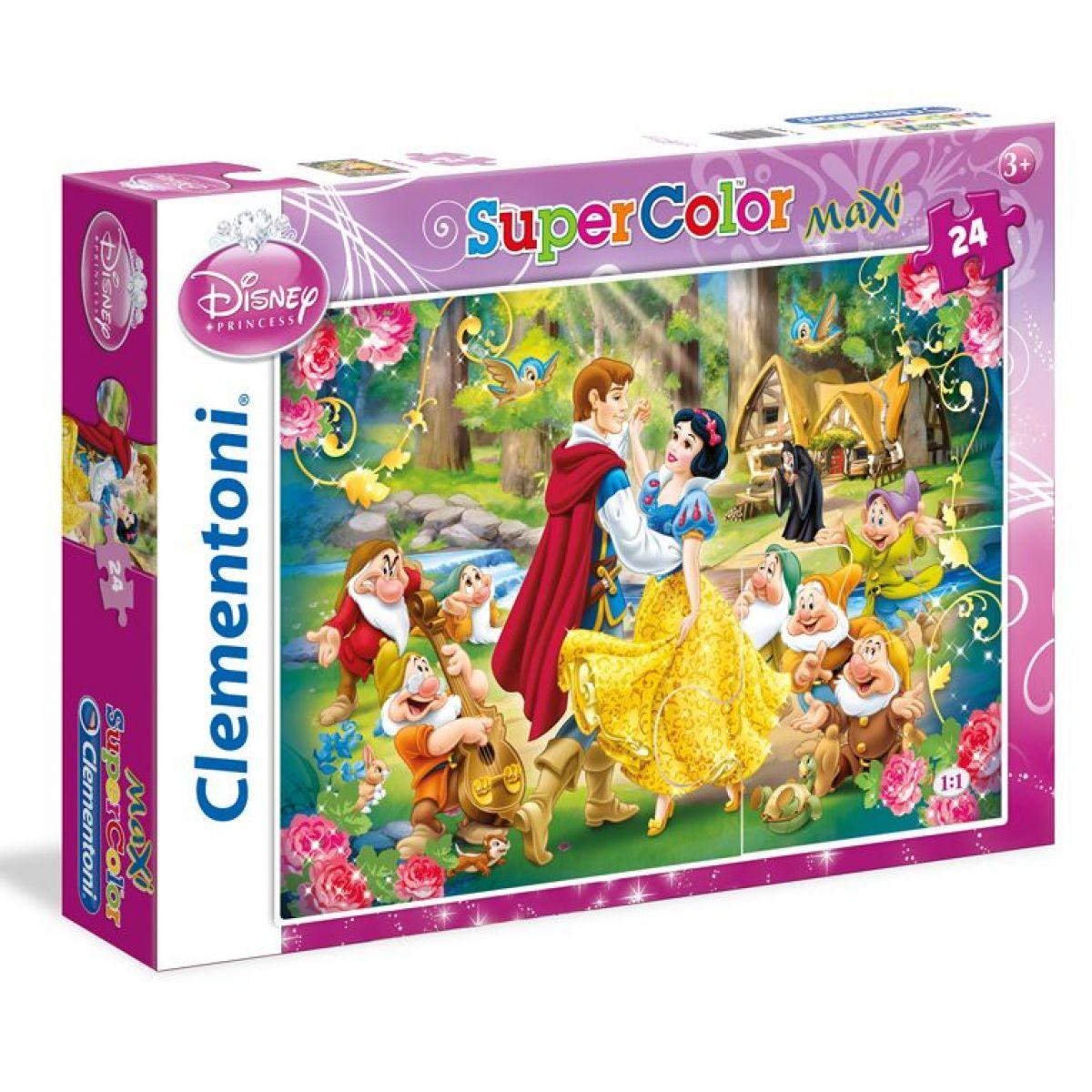 Clementoni Sněhurka Supercolor Maxi Puzzle 24d
