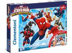 Clementoni Spider-man App Supercolor Puzzle 104d