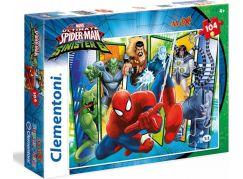 Clementoni Spider-Man Supercolor Puzzle Maxi 104 d