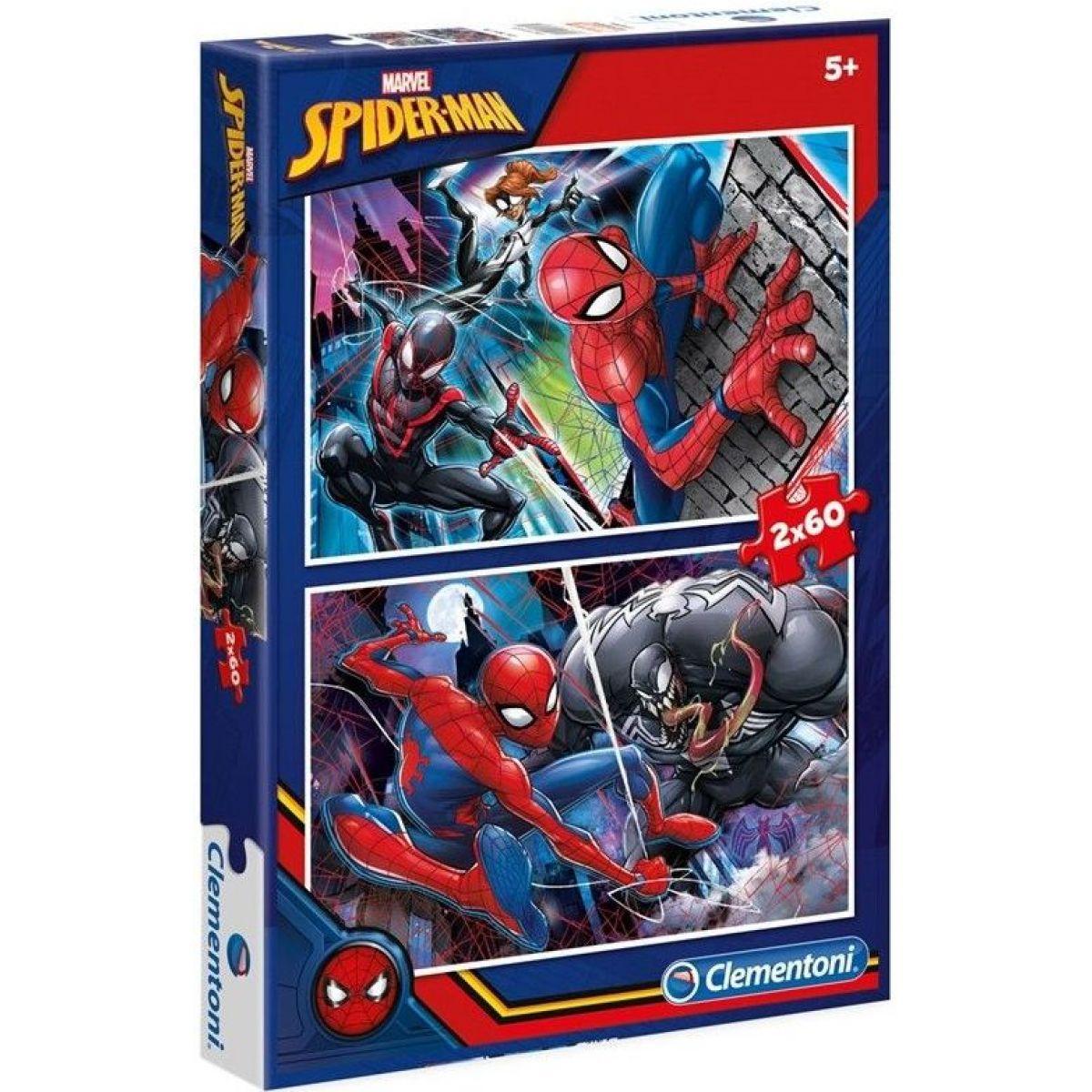 Clementoni Spiderman Puzzle 2 x 60 dílků