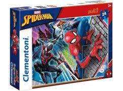 Clementoni Spiderman Supercolor Puzzle Maxi 24 dílků