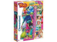 Clementoni Trollové Double Fun Puzzle Maxi 30d