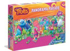 Clementoni Trollové Panorama Parade Puzzle 250d