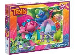 Clementoni Trollové Puzzle 100d