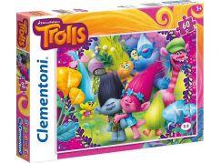 Clementoni Trollové Supercolor Puzzle 60d