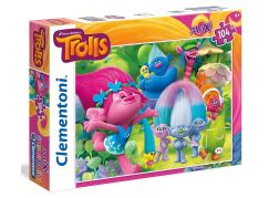 Clementoni Trollové Supercolor Puzzle Maxi 104d