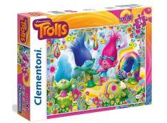 Clementoni Trollové Supercolor Puzzle Maxi 24d
