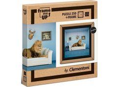 Clementoni Puzzle s rámečkem Pán domu 250 dílků