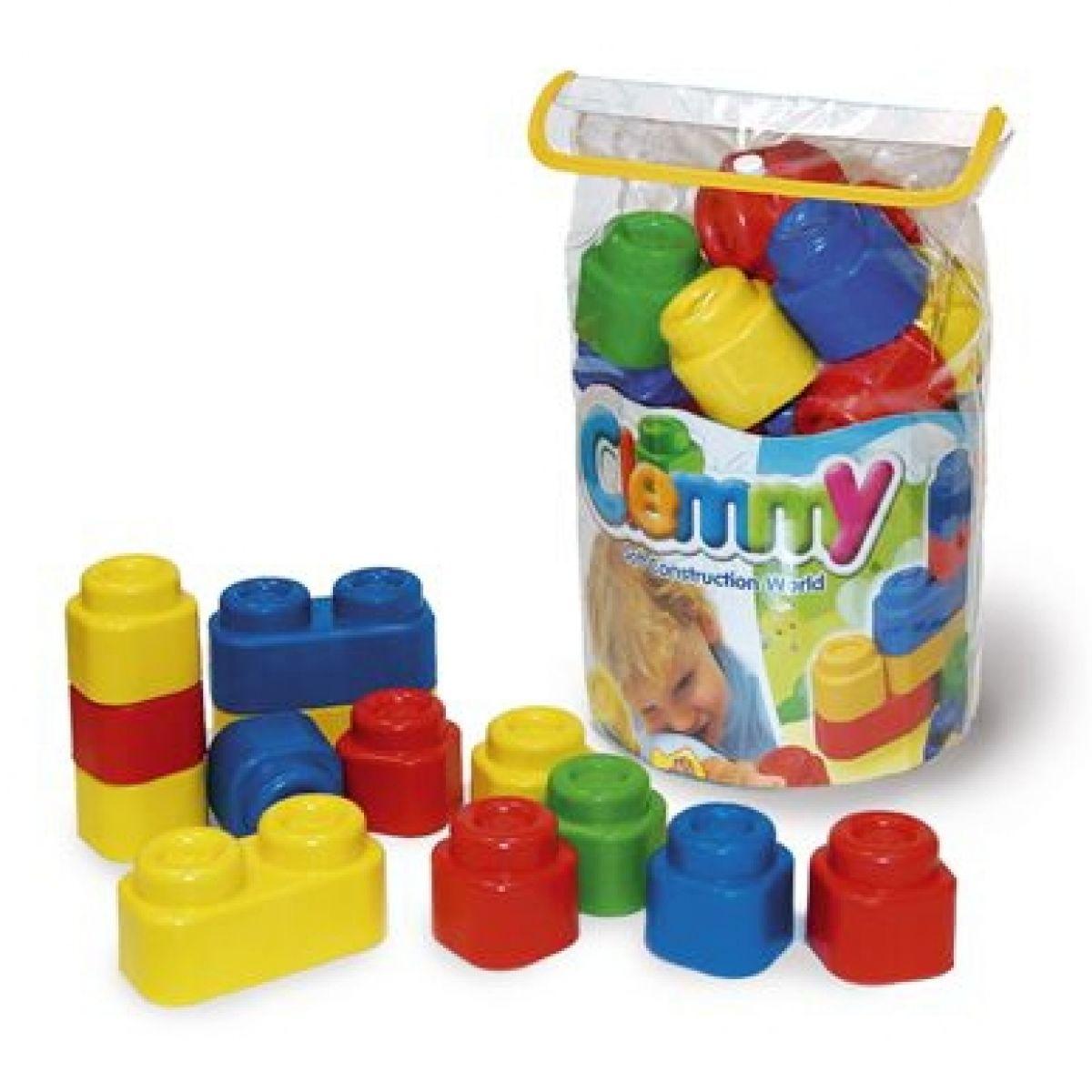 Clemmy 24 kostek v plastové tašce
