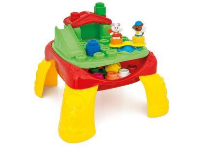 Clemmy Baby Veselý hrací stolek s kostkami a zvířátky