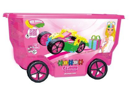 Clics Glitter Rollerbox 400 ks