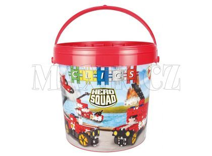 Clics Hero Squad Fire Brigade Drum
