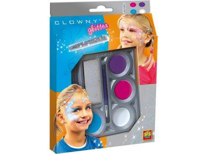 Clowny aqua 4 barvy a lesk