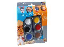 Clowny Aqua 6 barev