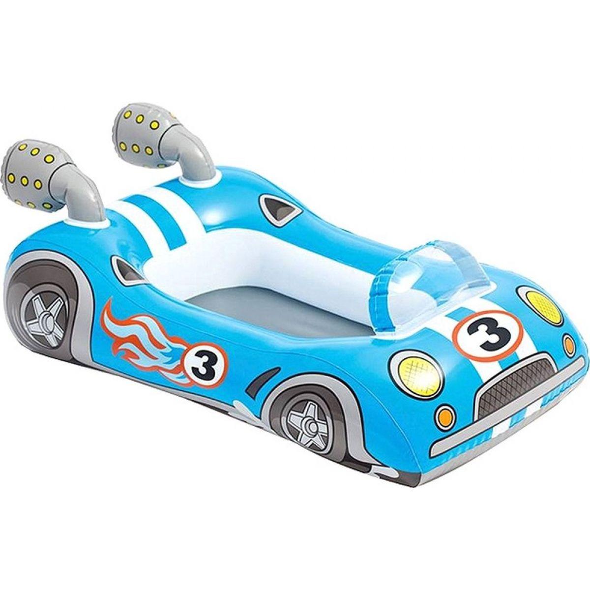 Člun dětský Intex 59380 - Závodní auto modré