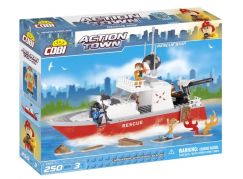 Cobi 1464 Action Town Hasičská loď