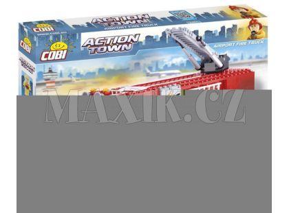 Cobi 1467 Action Town Letištní hasičské auto
