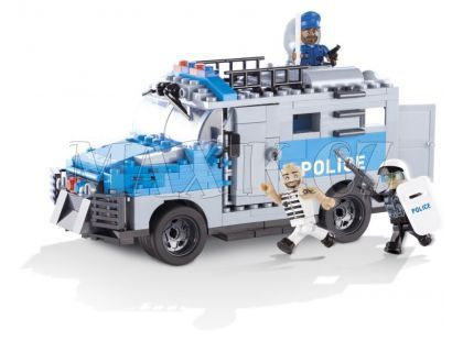 Cobi 1564 Action Town Policejní ozbrojené vozidlo