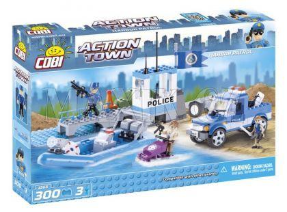 Cobi 1565 Action Town Říční policie v akci