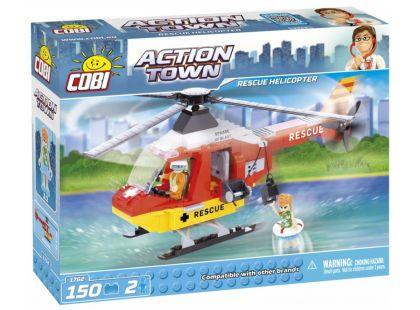 Cobi 1762 Action Town Záchranná helikoptéra