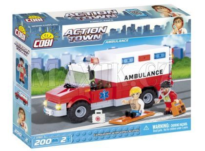 Cobi 1763 Action Town Sanitka