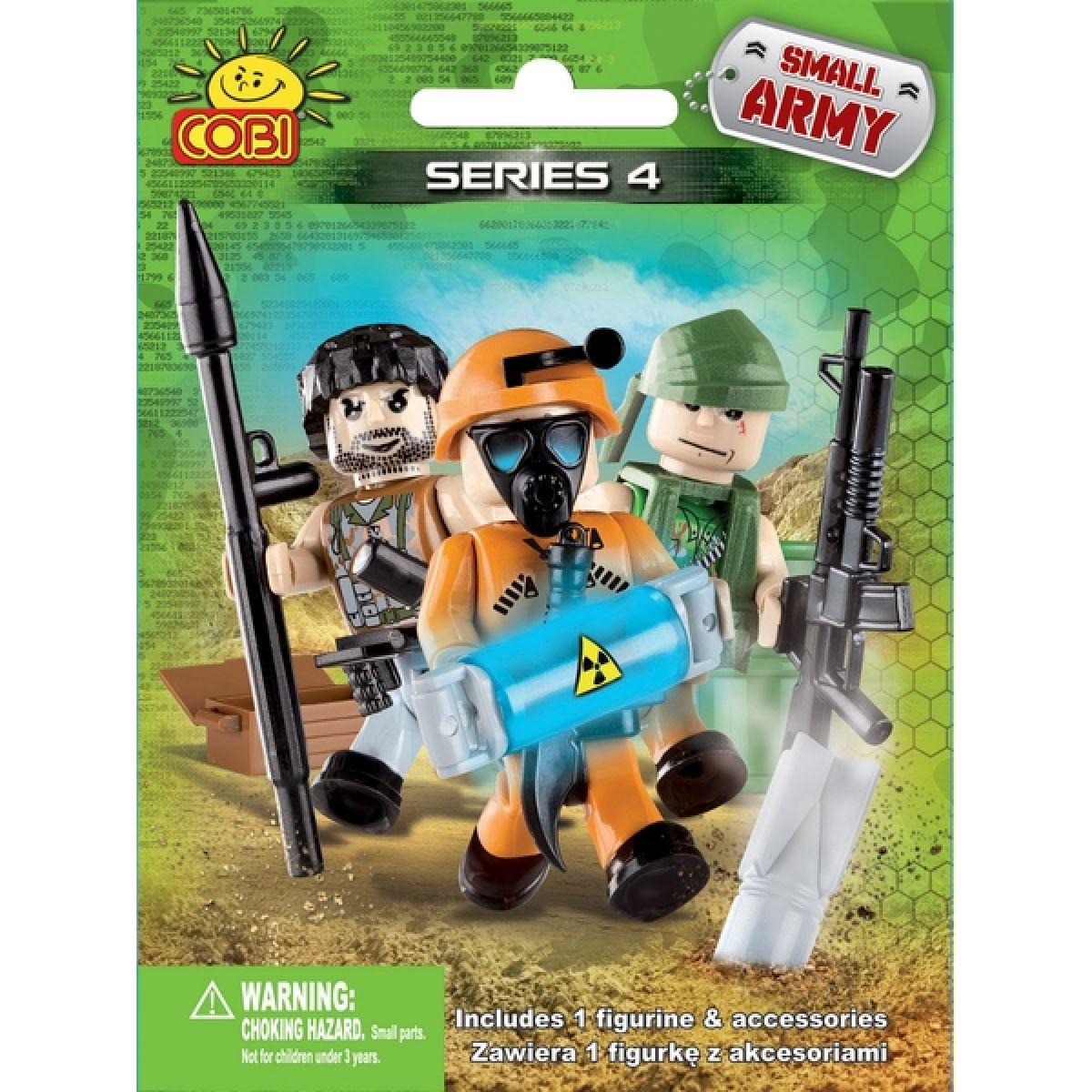 Cobi 2004 Malá armáda 1 figurka s doplňky v sáčku