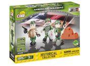 Cobi 2026 Malá armáda 3 figurky s doplňky Americká armáda