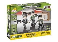 Cobi 2027 Malá armáda 3 figurky s doplňky Německá armáda