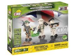 Cobi 2028 Malá armáda 3 figurky s doplňky Britská armáda
