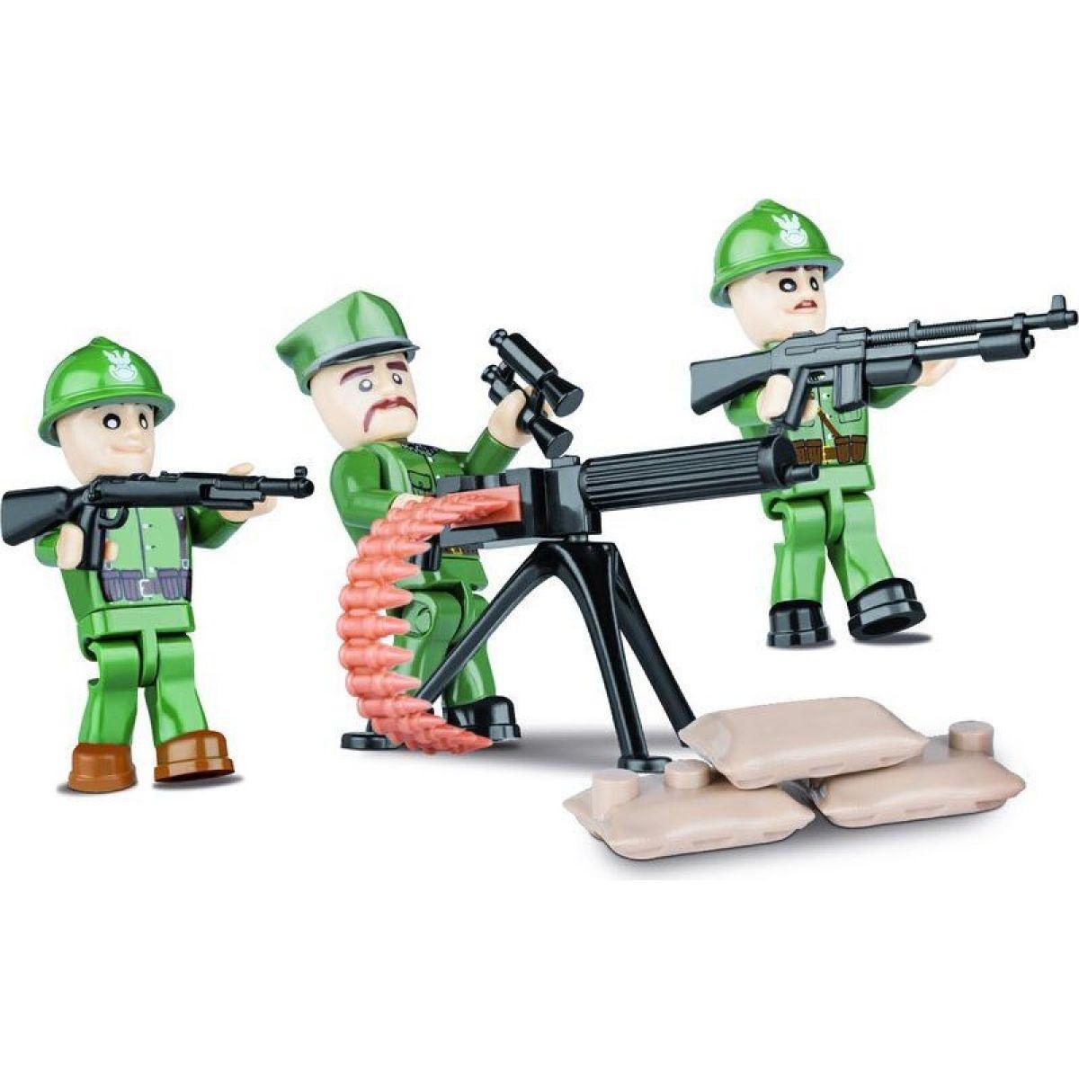 Cobi 2029 Malá armáda 3 figurky s doplňky Polská armáda