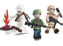 Cobi 2031 Malá armáda 3 figurky s doplňky Německá elitní jednotka