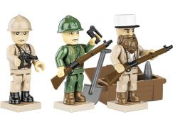 Cobi 2037 3 figurky s doplňky French Armed Forces