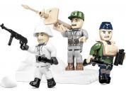 Cobi 2039 Tři figurky s doplňky German Elite Infantry