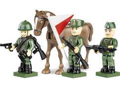 Cobi 2049 3 figurky s doplňky Polská armáda 1939