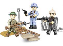 Cobi 2051 3 figurky s doplňky 1. světová válka
