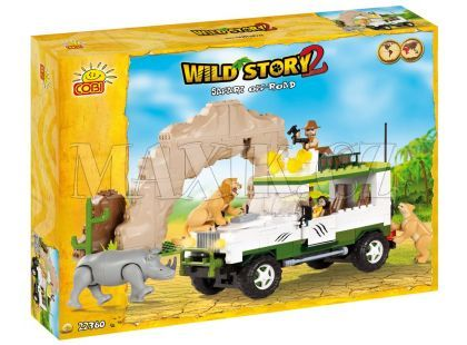 Cobi 22360 Příběh divočiny Safari off-road